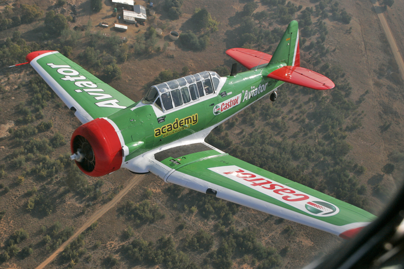 88-14716 ZU-AYS 2nd Castrol Aviator Stephan Rossouw 8