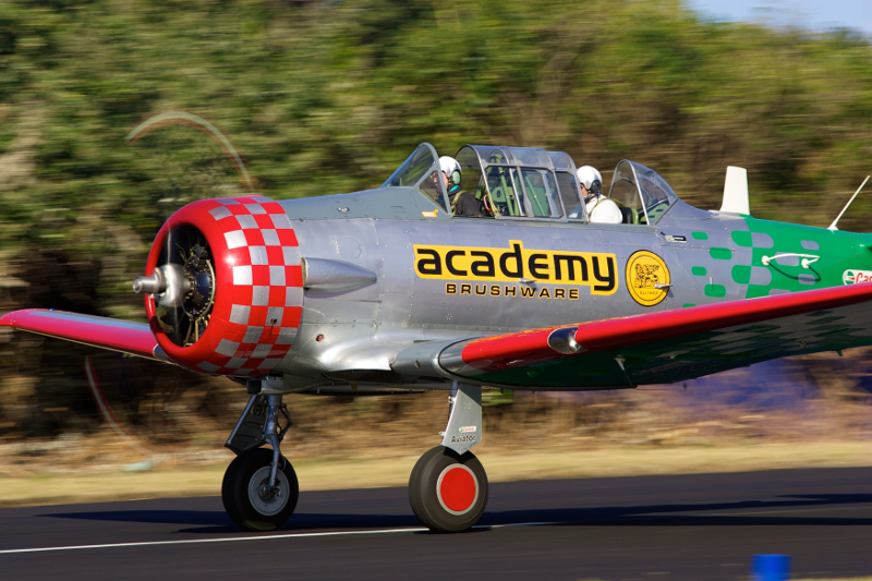 Flying Lions Castrol Aviator Academy Brushware 1st colour scheme Steve Allison 4