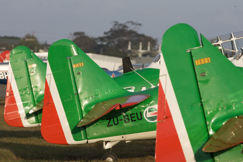 Flying Lions Castrol Aviator Academy Brushware 2nd colour scheme Steve Allison 12
