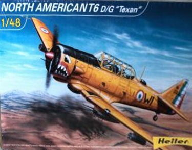 Heller 80434 North American T6 DG Texan 48 scale