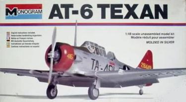 Monogram 5306 AT-6 Texan 48 scale