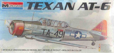 Monogram 5306 Texan AT-6 48 scale