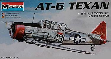 Monogram 85-5306 AT-6 Texan 48 scale