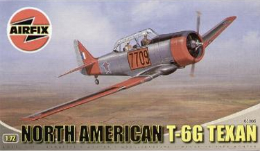 Airfix 03066 North American T-6G Texan 72 scale