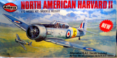 Airfix North American Harvard II 72 scale
