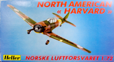 Heller North American Harvard 72 scale