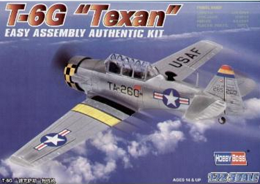 Hobbyboss 80233 T-6G Texan 72 scale